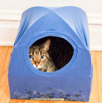 Спальное место для кошки своими руками 537